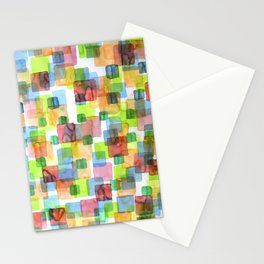 Square Dance Stationery Cards