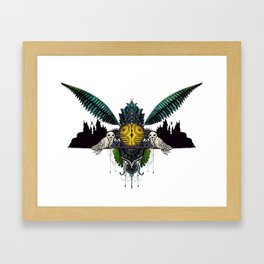 A wizards game Framed Art Print