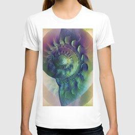 Melon Shell Abstract T-shirt