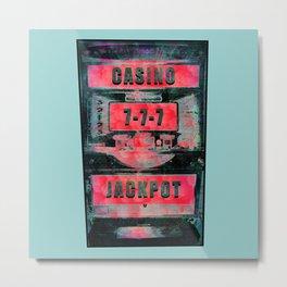 Casino Jackpot Metal Print