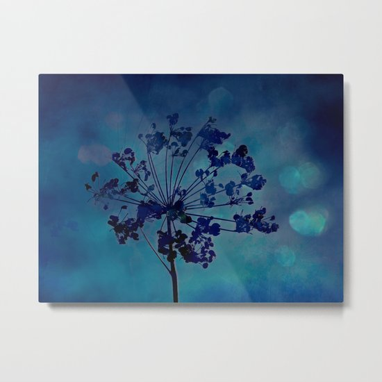 Grapesicle Metal Print