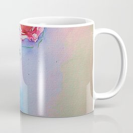 Watecolor Red Roses - Minimalist Art Coffee Mug