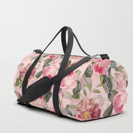Vintage & Shabby Chic - Summer Roses Flower Garden Duffle Bag