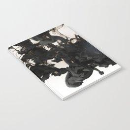 Black ink in water Notebook