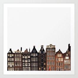 Simply Amsterdam Art Print