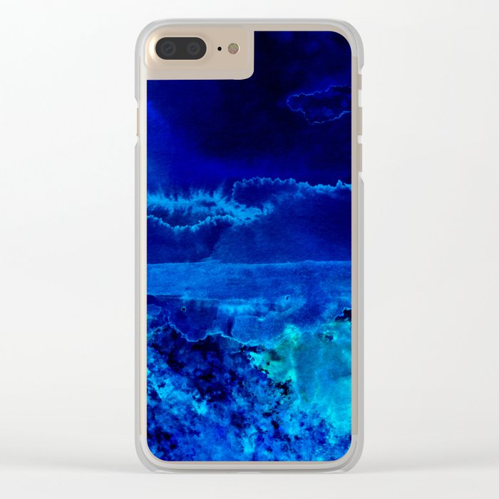 Icy Storm Clear iPhone Case