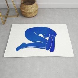 Blue Nude I Rug