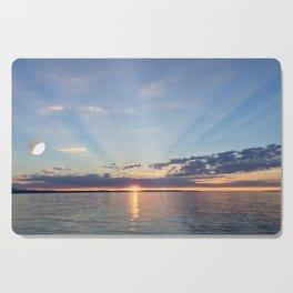 A Seattle Sunset Cutting Board