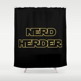 Nerd Herder Shower Curtain
