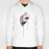 hawk Hoodies featuring Hawk by Slopedesign