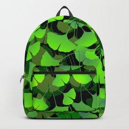 Gingko Biloba Pattern Big Backpack