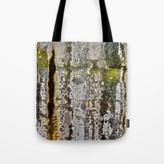 Moss Abstracted Tote Bag
