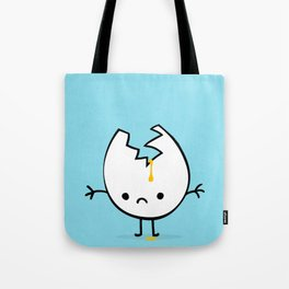 Mr Egg is now sad Tote Bag