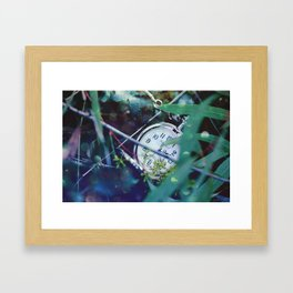 Things Not Remembered Framed Art Print