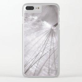 Puffball Filament Clear iPhone Case