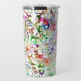 Abstract Microbes Travel Mug