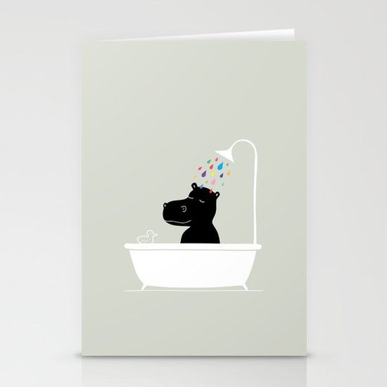 The Happy Shower Stationery Cards