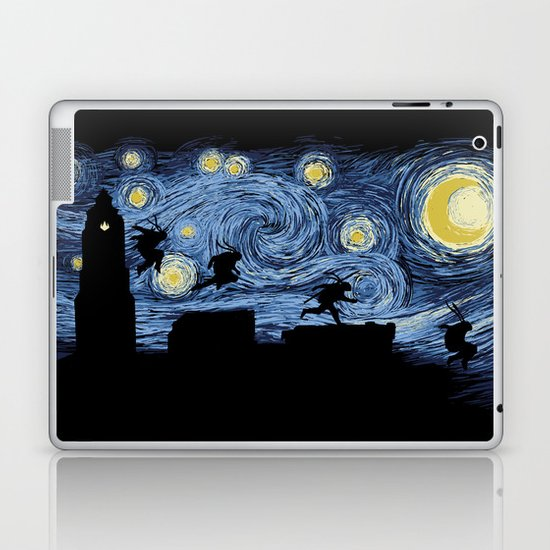 Starry Fight Laptop & iPad Skin