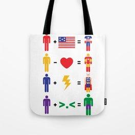 Assemble Math Tote Bag