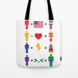 Assemble Math Tote Bag