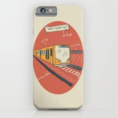 U-BAHN  Slim Case iPhone 6s