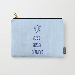 Next year in Jerusalem 4 Carry-All Pouch