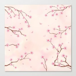 Cherry Blossom Dream Canvas Print