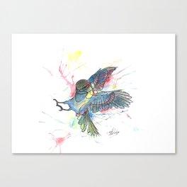 Attack (2012) Canvas Print