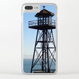 Alcatraz Watchtower Clear iPhone Case