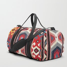 Kazak  Antique Southwest Caucasus Kilim Print Duffle Bag