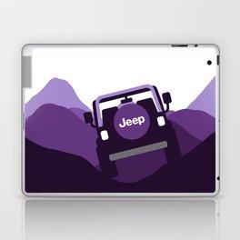 Jeep 'Driving' Purple Mountain Laptop & iPad Skin