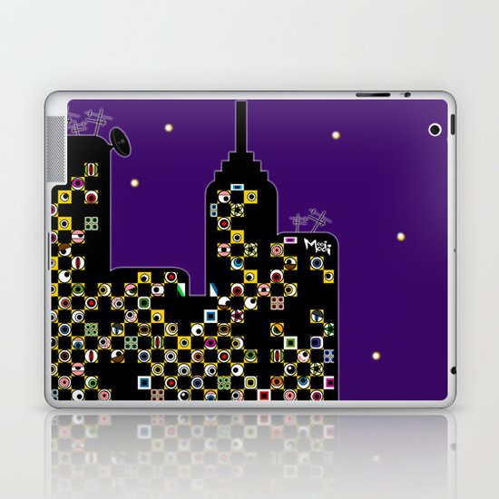 ...BETTER BE UNNOTICED IN THIS COMMUNITY... Laptop & iPad Skin