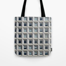 New York Facade Tote Bag