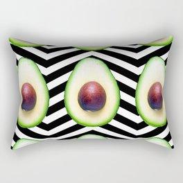 Avocado pattern I Rectangular Pillow