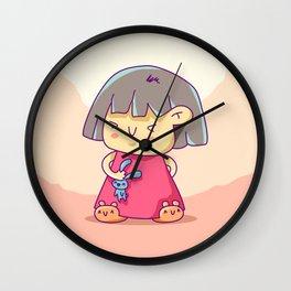 Japa Girl Wall Clock