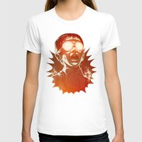 scary T-shirts featuring FIREEE! by Dr. Lukas Brezak