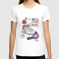 chuck T-shirts featuring The Chuck Taylor by Frances Beale