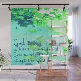 God I Look To You Wall Mural