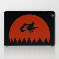 witch iPad Cases featuring Witch by Cs025