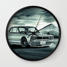 THE JAPANESE LEGEND Wall Clock
