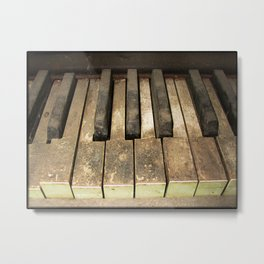 A Melody Left Abandoned Metal Print