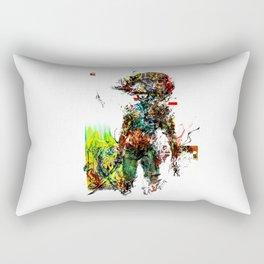 MGS Raiden Rectangular Pillow