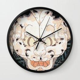 Utagawa Kuniyoshi - Cats' Fifty Three Stations Of Tokaido Wall Clock