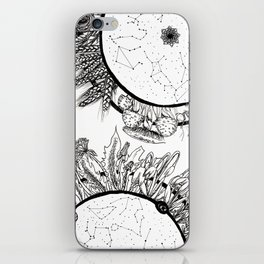 Cosmic Wheel iPhone Skin