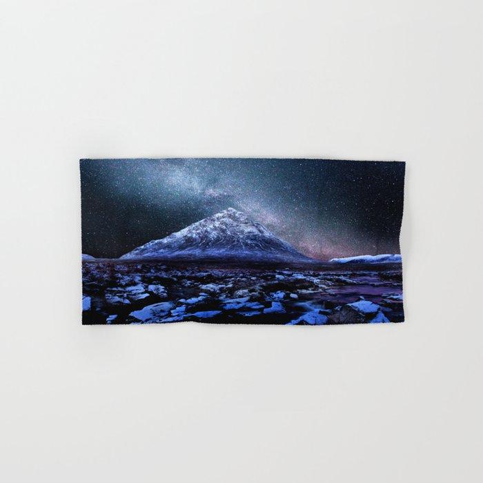 Milky Way Mountain Hand & Bath Towel