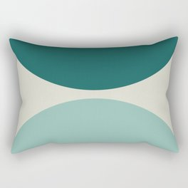 Abstract Geometric 20 Rectangular Pillow