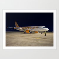airplane Art Prints featuring Airplane by cjsphotos