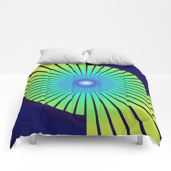 Geometric abstract 2016/004 Comforters