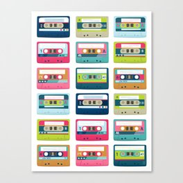 Mixtape Monday Canvas Print