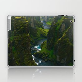 River in the Valley (Color) Laptop & iPad Skin